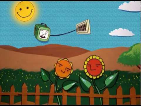 d.light Solar Animation (Hindi) -- Novel use of Solar Energy