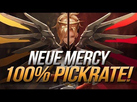 Der stärkste Held in Overwatch? | Neue Mercy mit 100% Pickrate | Overwatch Deutsch
