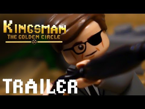 Kingsman: The Golden Circle Red Band in LEGO