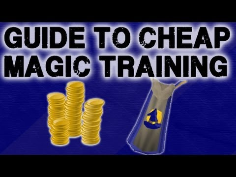 Guide to cheap magic training in Old School Runescape
