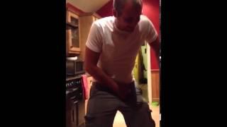 Richard farts in kitchen