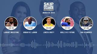 UNDISPUTED Audio Podcast (3.29.18) with Skip Bayless, Shannon Sharpe, Joy Taylor | UNDISPUTED
