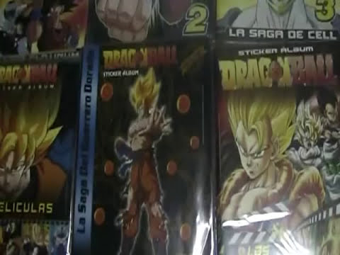 COLECCION ALBUMES DRAGON BALL PERU