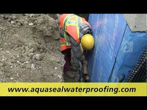 Wet Leaky Basement Waterproofing Contractors by Aquaseal Basement Waterproofing Contractors