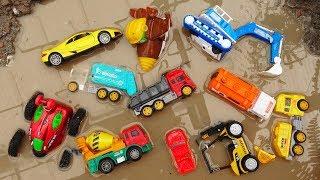 Fine Toys Construction Vehicles Under The Mud | Dump truck | Wheel Loader #2 F399C