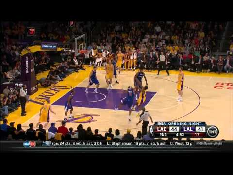 La Lakers vs La Clippers | Full Lakers Highlights | Season Opener 10-29-13