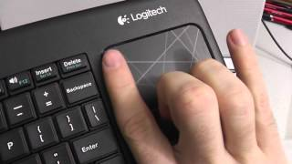 k400 Logitech Wireless Touch Keyboard Unboxing