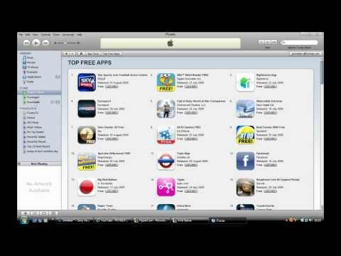 How Download Apps From The iTunes App Store