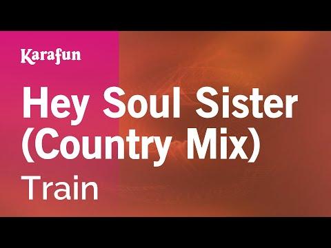 Karaoke Hey Soul Sister (Country Mix) - Train *
