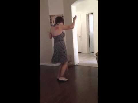 Cute Indie Mom Strip Dance video