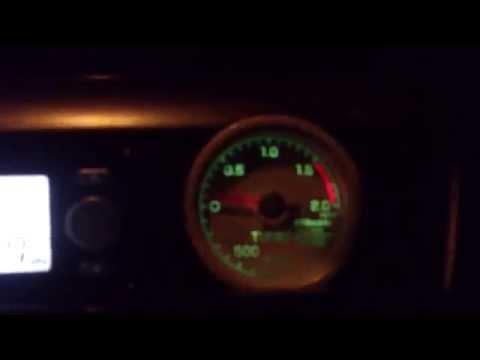 Evo9 4G63 GTX3076R Turbo Boost1.5Bar.(ランエボ9タービン交換ブースト1.45)