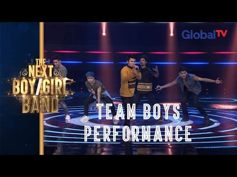 Team Boys sings 'Drag Me Down' (One Directions) I The Next Boy / Girl Band