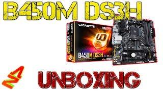 Gigabyte B450M DS3H Unboxing / Overview AMD Ryzen Mainboard Deutsch / German by AZ3ROX