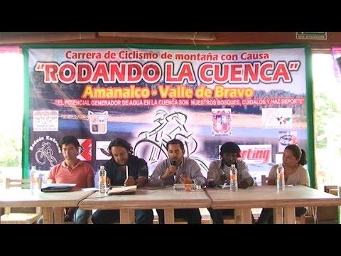 Conferencia de prensa Rodando la cuenca, Valle de Bravo