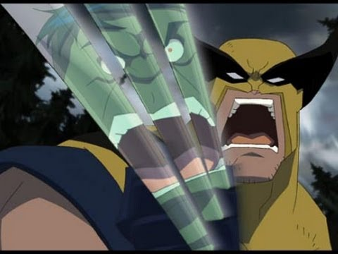 Hulk vs Wolverine AMV - Long Tall Sally