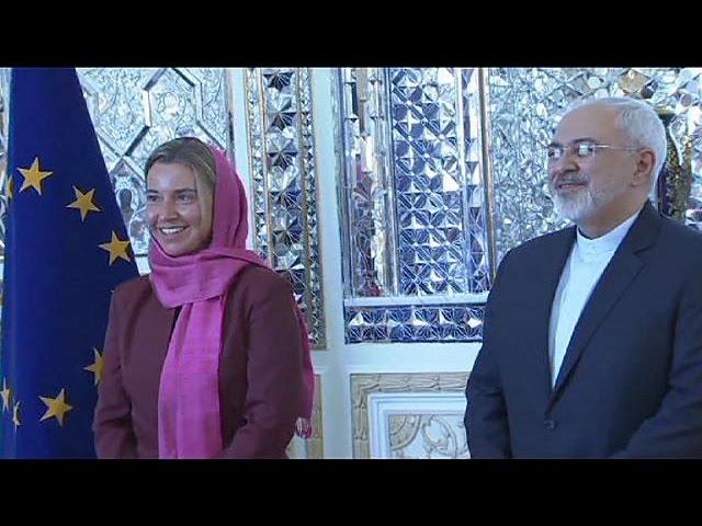 La chef de la diplomatie européenne en Iran pour vanter l'accord sur le nucléaire