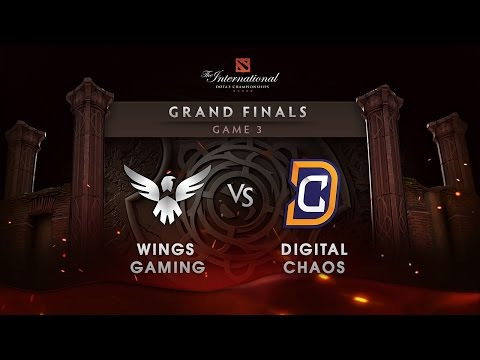Wings Gaming vs Digital Chaos - Grand Finals - Game 3 - The International 6