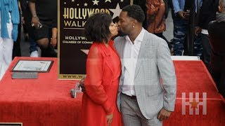 Taraji P. Henson Shares Sweet Kisses And Wedding Plans At Star Unveiling