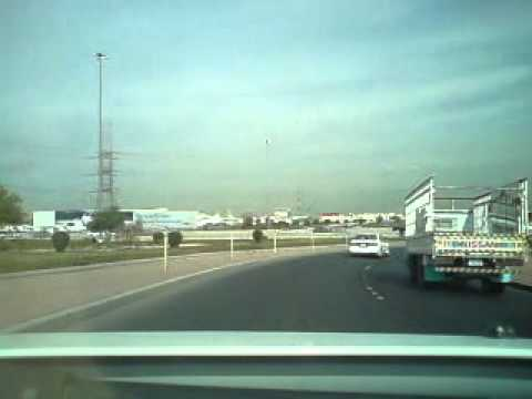 KUWAIT Travel Time w/ ELL - Movenpick Hotel to Farwa