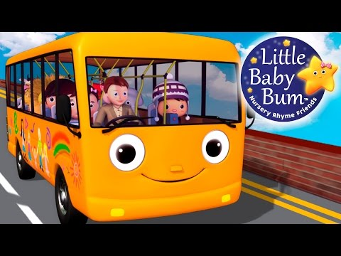 Wheels On The Bus | Part 5 | Nursery Rhymes | Hd Version From Littlebabybum video