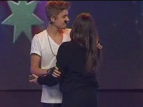 Justin Bieber: Grabbed by fan on stage in Australia
