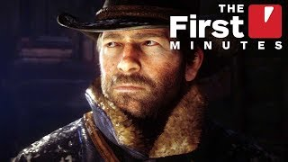 The First 20 Minutes of Red Dead Redemption 2 Gameplay (Captured in 4K)