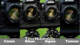 24-70mm f2.8 Showdown! 6 Sharpness & Image Quality