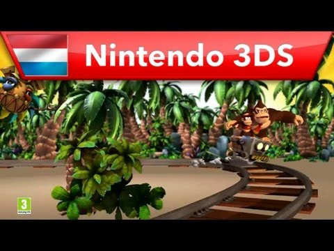 Donkey Kong Country Returns 3D - TV Commercial (Nintendo 3DS)