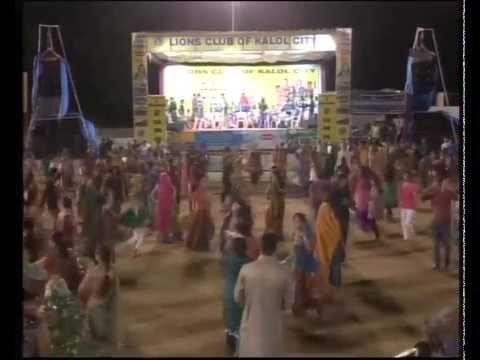 Navratri 2013 Live Garba - Kalol - Day 7 - Vikram Thakor Mamta...