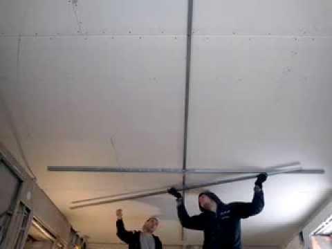 Видео как нарисовать потолок