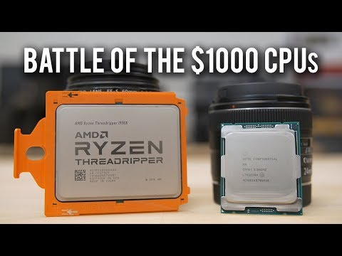 Threadripper 1950X vs Core i9 7900X - Gaming & Rendering Benchmarks!