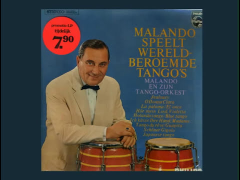 Malando - Plays World Famous Tangos - Album