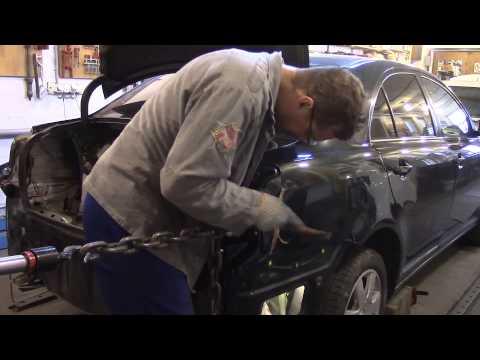 Ремонт авто видео тойота