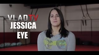 Jessica Eye Gives Her Views on Transgender Fighters
