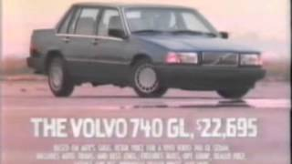 1989 Volvo 740 GL commercial