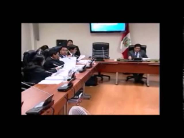 Sesion Presidente Regional de Huancavelica Maciste Diaz