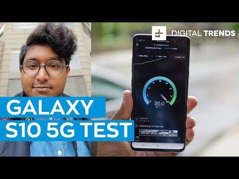 5G Test: Samsung Galaxy S10 5G On Verizon's Network In Chicago
