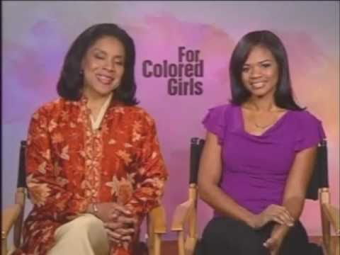 Phylicia Rashad and Kimberly Elise sat intv For Colored Girls