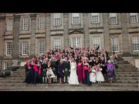 Caroline & Stuart's Wedding Film Highlights - Hopetoun House Wedding Video Edinburgh