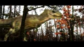T-Rex attack! Short movie + Green screens pack download