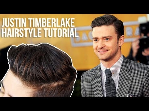 JUSTIN TIMBERLAKE ◗ NEW HAIRSTYLE TUTORIAL   JAIRWOO