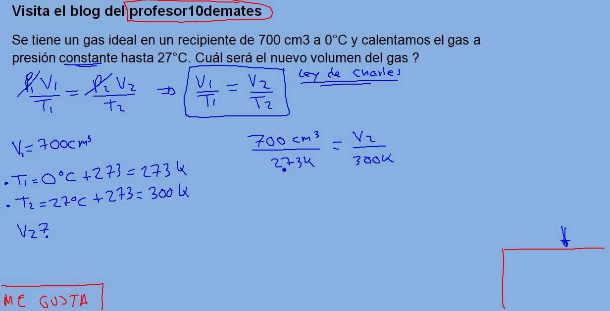 Ley de Los Gases Formulas Leyes de Los Gases 02