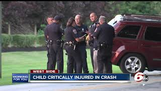 4-year-old injured in car accident