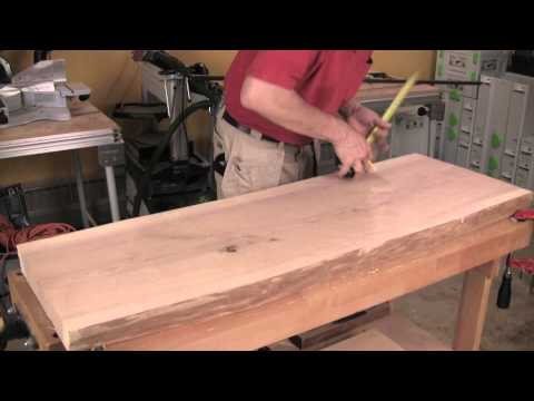 Build a Slab-Topped Sofa Table Using Loose Tenon Joinery