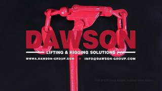CHINA DAWSON DSILB G70 GRADE 70 DROP FORGED INDIRECT LOAD BINDER WITH CRADLE GRAB HOOK FOR LASHING