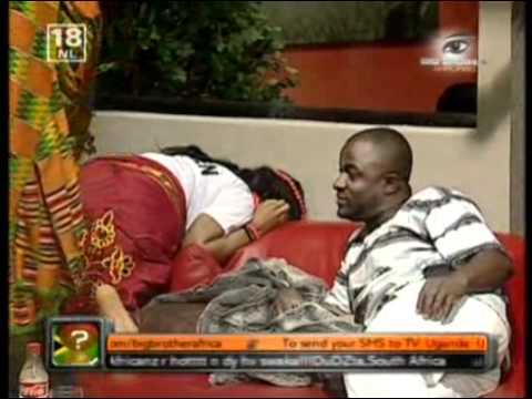 Big Brother Africa Amplified  - Weza Smoking. thumbnail