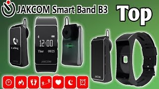 Top Best smartband In 2018/ Smart Band B3 Bluetooth headphone wireless calling Heart Rate Monitor