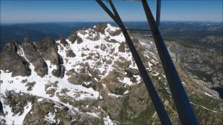 Sierra Buttes Flyover Northern Ca. Luscombe 8A