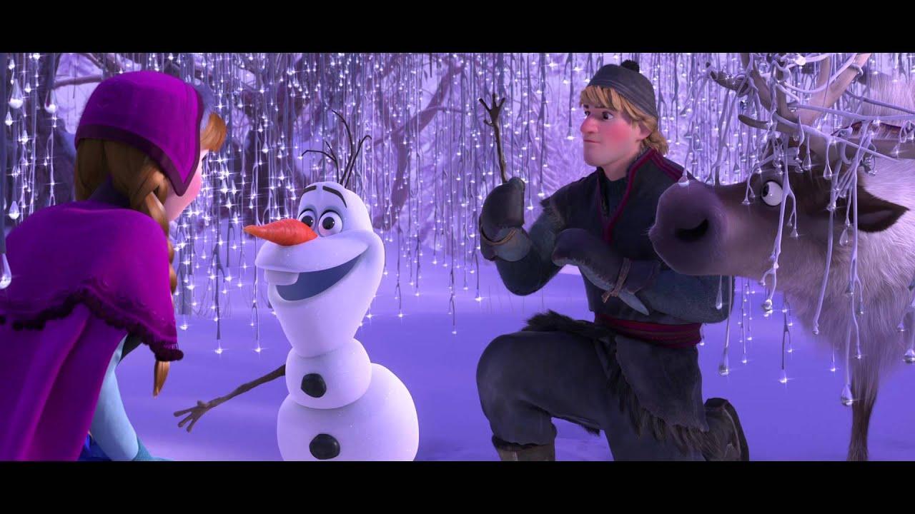 La reine des neiges extrait exclusif rencontre avec - Olaf de la reine des neige ...