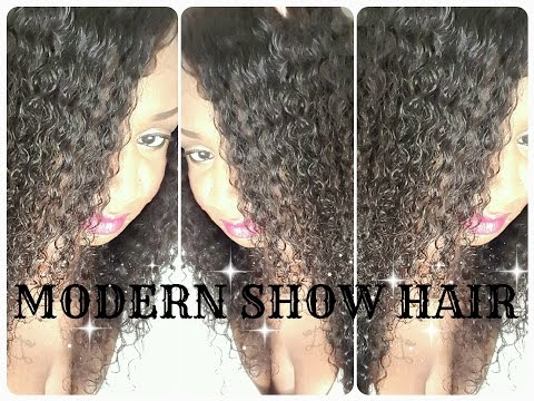 MODERN SHOW HAIR | MALAYSIAN CURLY...the install !
